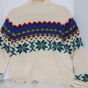 Vintage Limited America Wool Sweater